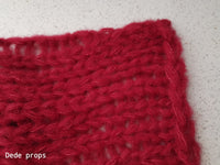 RED blanket- newborn size