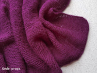 PURPLE wrap- newborn size
