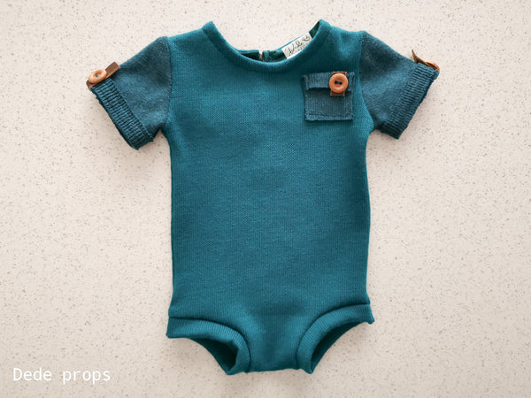 LAURENT romper - newborn size
