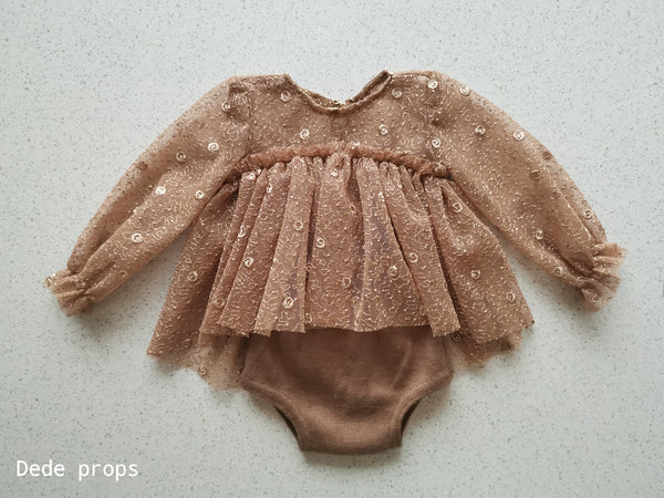 DOLLY romper - newborn size