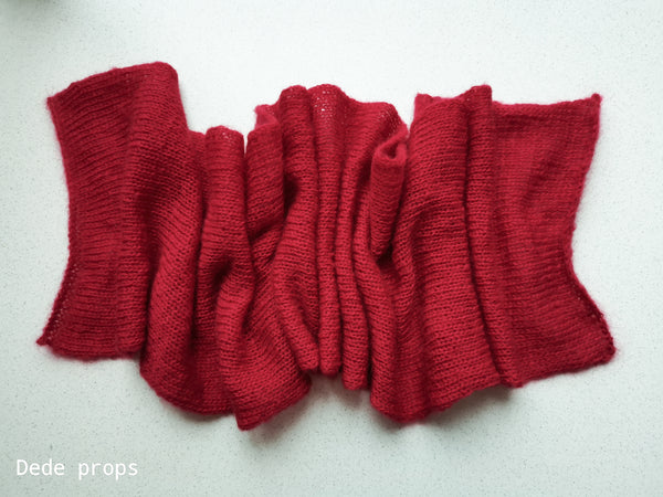 RED ALIZE NATURALE wrap- newborn size