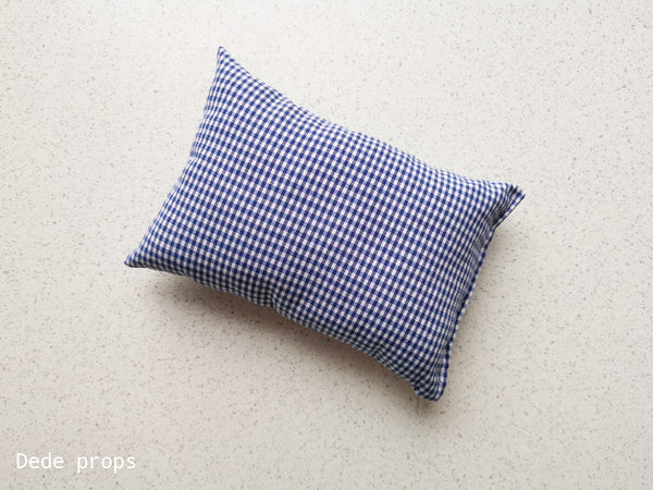 FADED DENIM PILLOW - NEWBORN SIZE