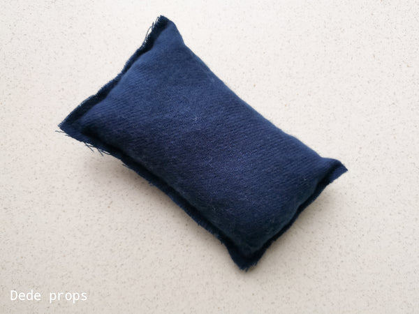 PAGEANT BLUE PILLOW - NEWBORN SIZE