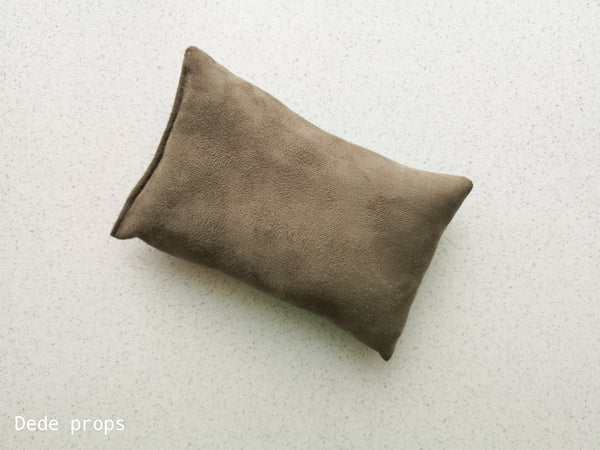 BURNT OLIVE PILLOW - NEWBORN SIZE