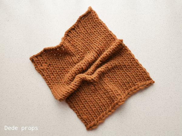 COPPER SNOW blanket- newborn size