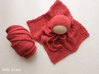RASPBERRY AIR blanket- newborn size