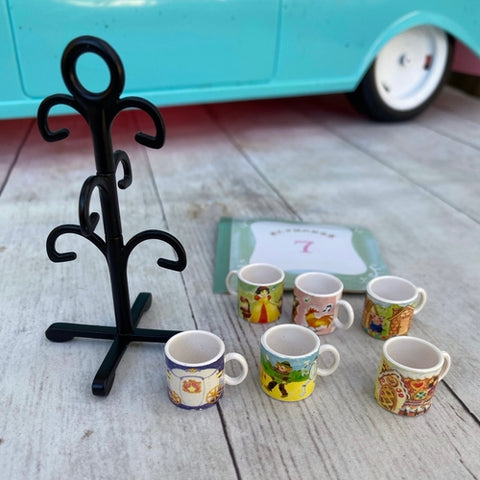 Re-Ment Fairy Tale Mug Tree Set