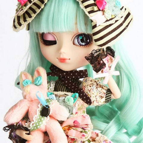 P 073 pullip alice du jardin mint big head dolls for Alice du jardin pullip