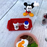 Re-Ment Disney Mickey Mouse 50's Cafe #2 Hawaiian Loco Moco