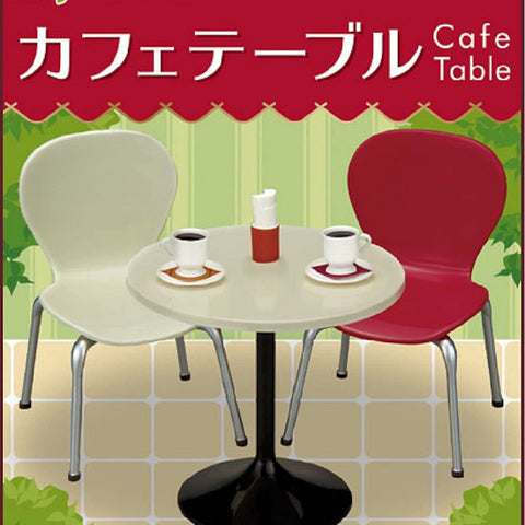 Re-Ment Petit Sample Cafe Table & Chairs