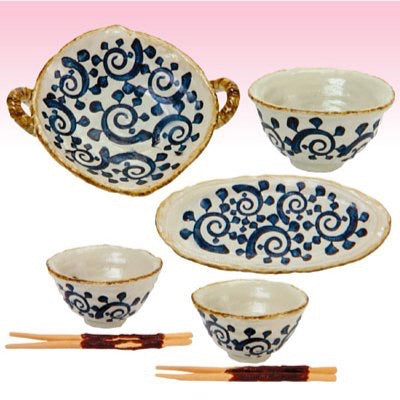 Re-ment Dream Tableware #7 Nagomi Japanese Dishes