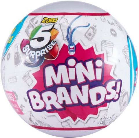 Zuru 5 Surprise Mini Brands mystery ball