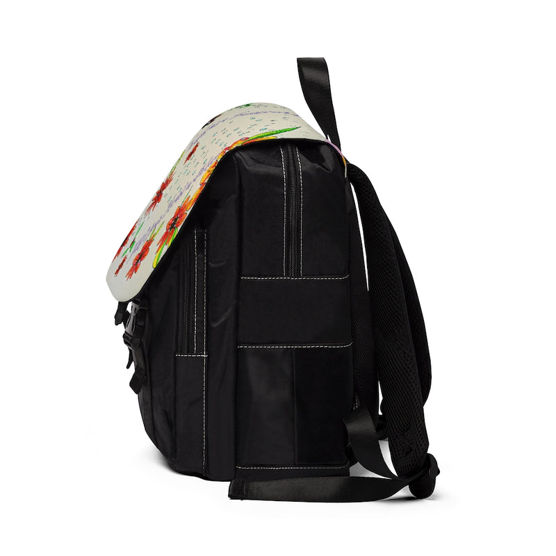 Designer Laptop Weekend Travel Bag, Casual Shoulder Backpack
