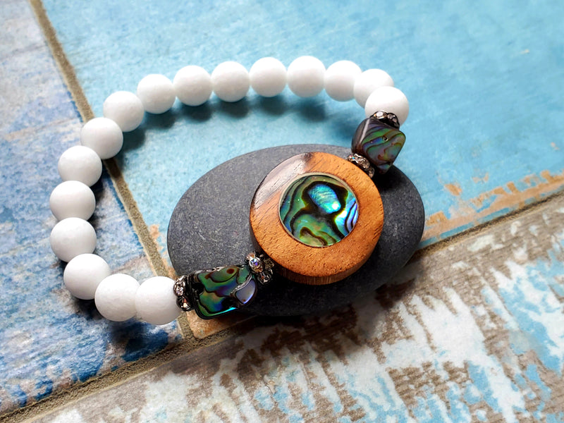 Abalone Stretch Bracelet