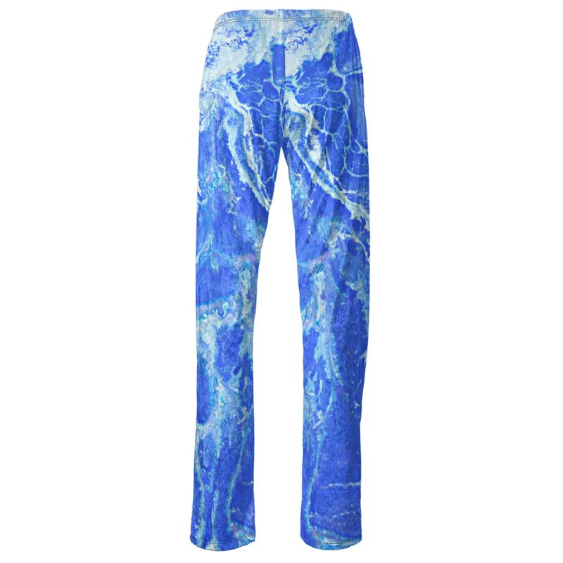 Seascape Velvet Lounge Pants