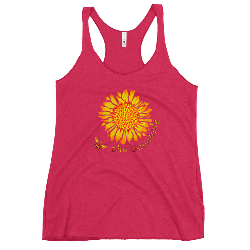 Be the Sunshine Women's Racerback Tank