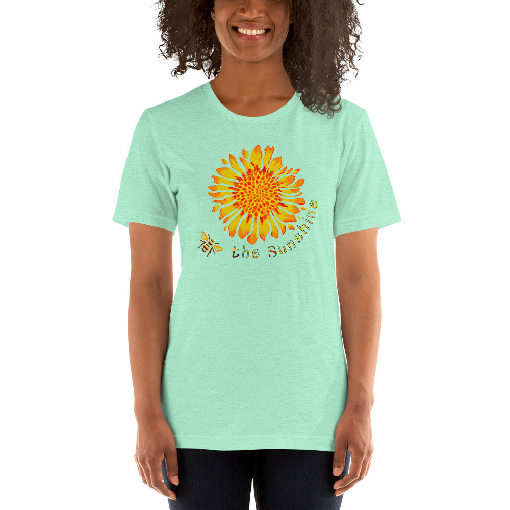 Be the Sunshine Variety of Colors Short-Sleeve Unisex T-Shirt