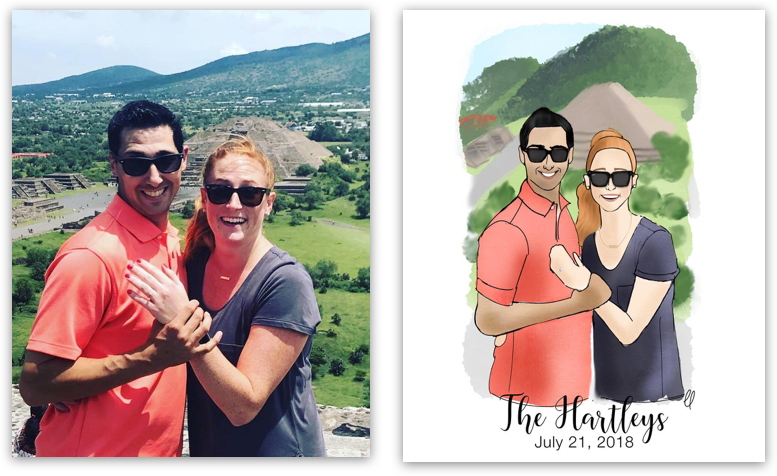 A Picture Perfect Gift for The Couple Who Has Everything