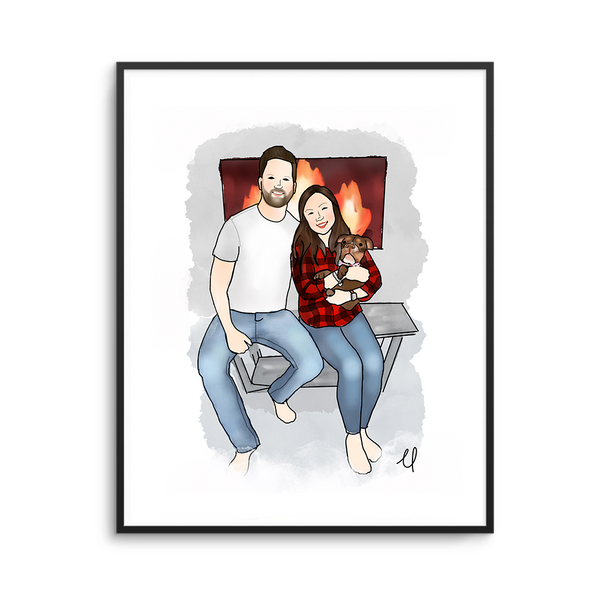 Custom Portrait - Orders Closed (Join the Waitlist!)