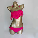 Hello Beach Fringe Tassel Bikini  cyi001549 - Shopazon Central
