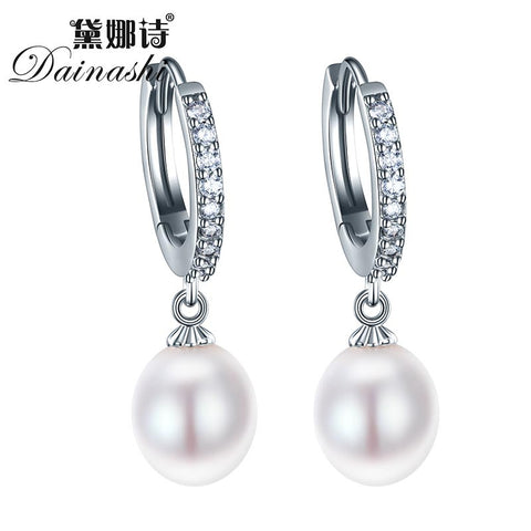 100% natural freshwater angel tear pearl earrings - Shopazon Central
