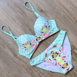 New High Neck Push Up Bikini 2016 B255 - Shopazon Central