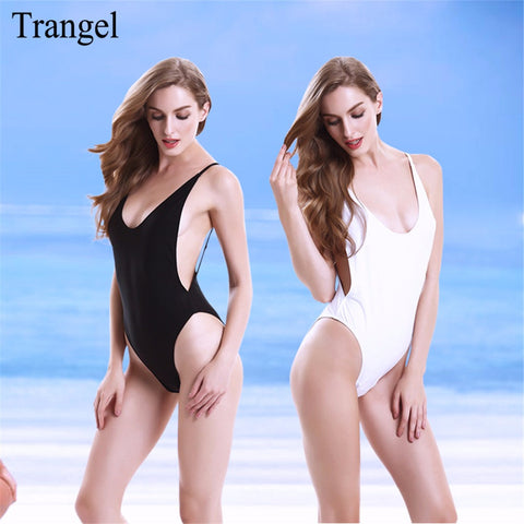 Backless One Piece Swimsuit 50151650 - Shopazon Central