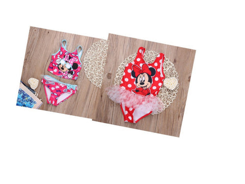 Minnie Mouse One Piece Swimwear - Shopazon Central