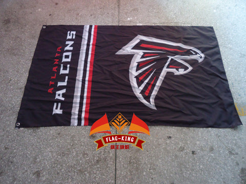 Atlanta Falcons flag, NFL banner,100% polyester 90*150 - Shopazon Central
