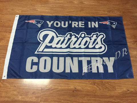 New England Patriots 3x5ft USA Flag - Shopazon Central