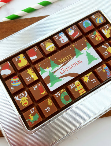 Advent Chocolate Slab Bar