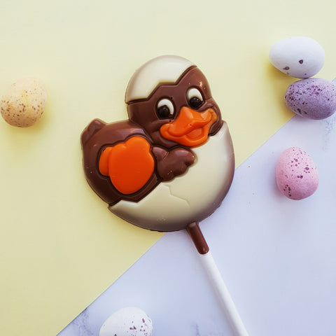 Easter Duckling Lollipop