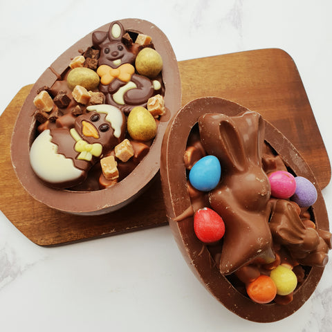"""Secret Centres"" Rocky Road Easter Egg"