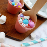 Miniature Unicorn Cupcake Hot Chocolate Stirrer