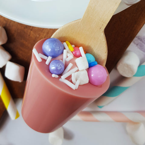 Unicorn Cupcake Hot Chocolate Stirrer