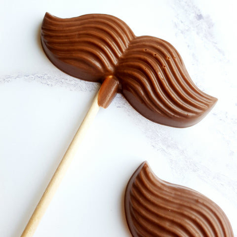 Moustache Lollipop