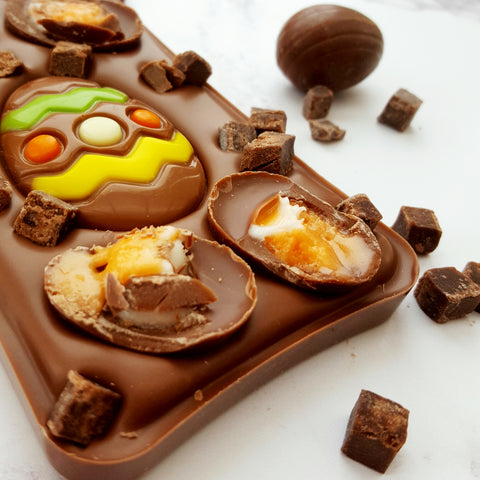 The Creme Egg Brownie