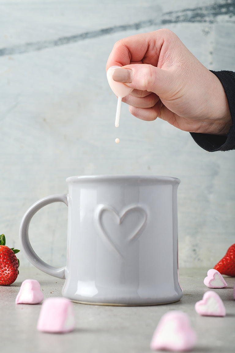 Strawberries & Cream Love Potion Teddy Spoon