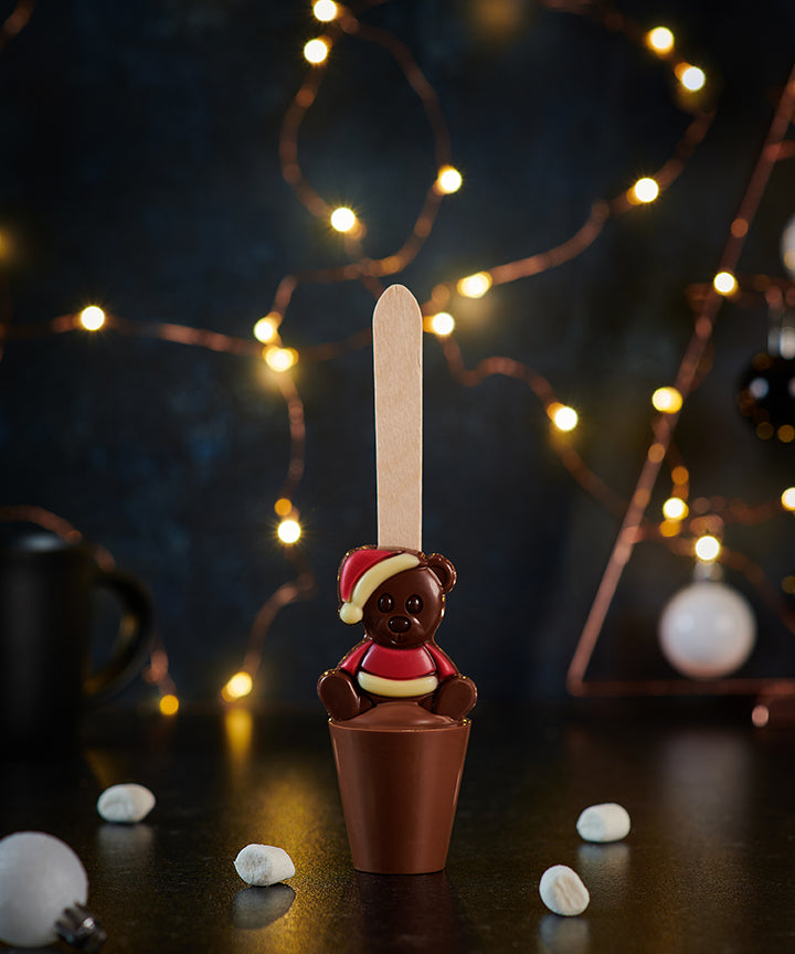 Christmas Teddy Hot Chocolate Spoon