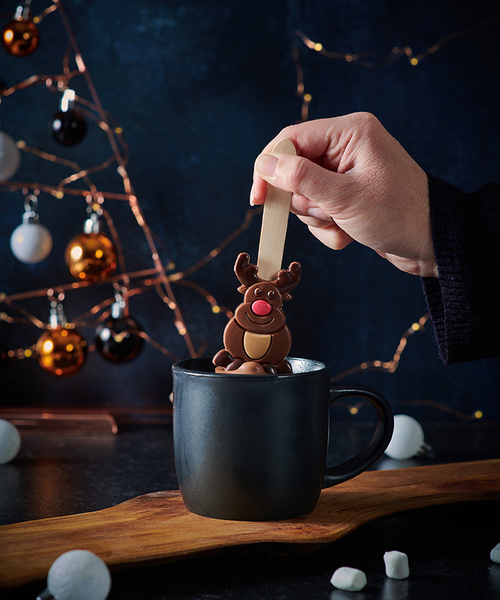 Rudolph Hot Chocolate Spoon