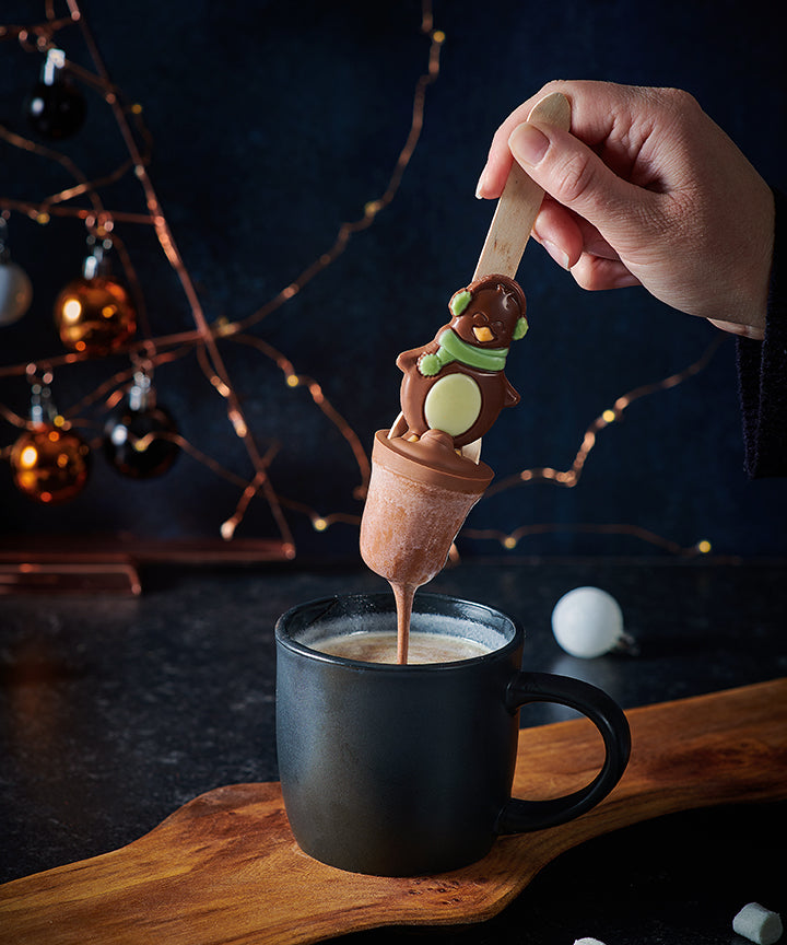 Penguin & Snowballs Hot Chocolate Spoon