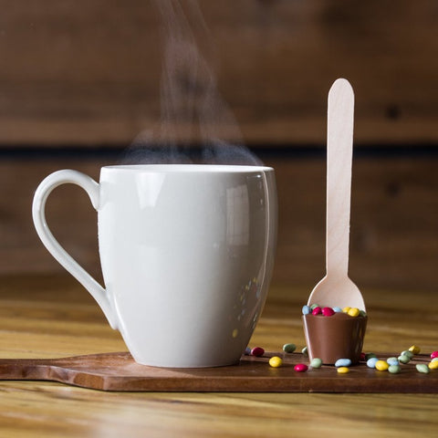 Mini Milk Chocolate Stirrer