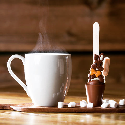 Boozy Bunny Hot Chocolate Stirrer