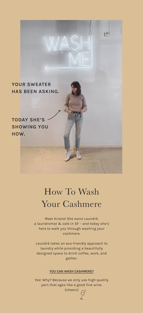 Intro - How to Wash Your Cashmere