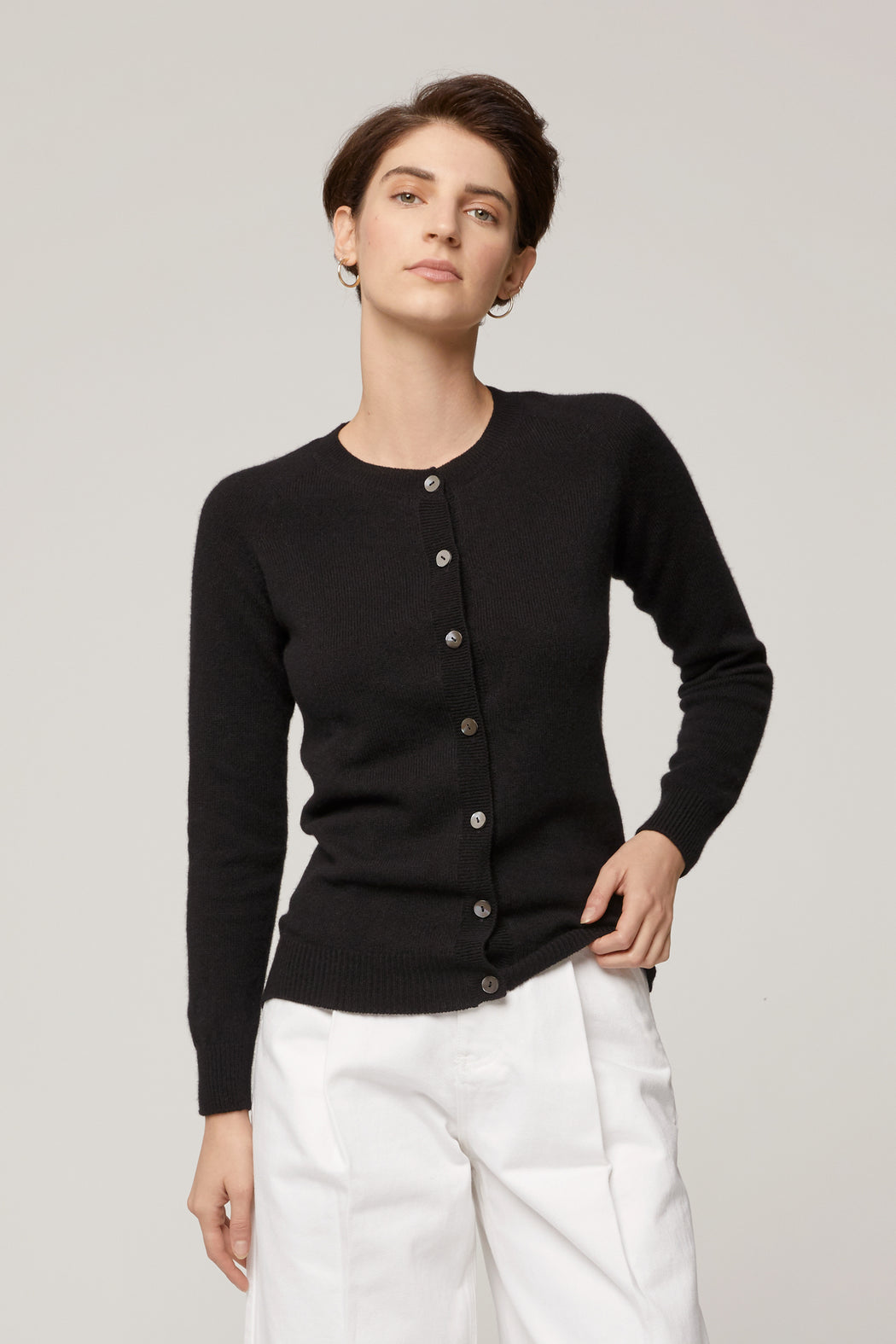 The Classic Cardigan, Black