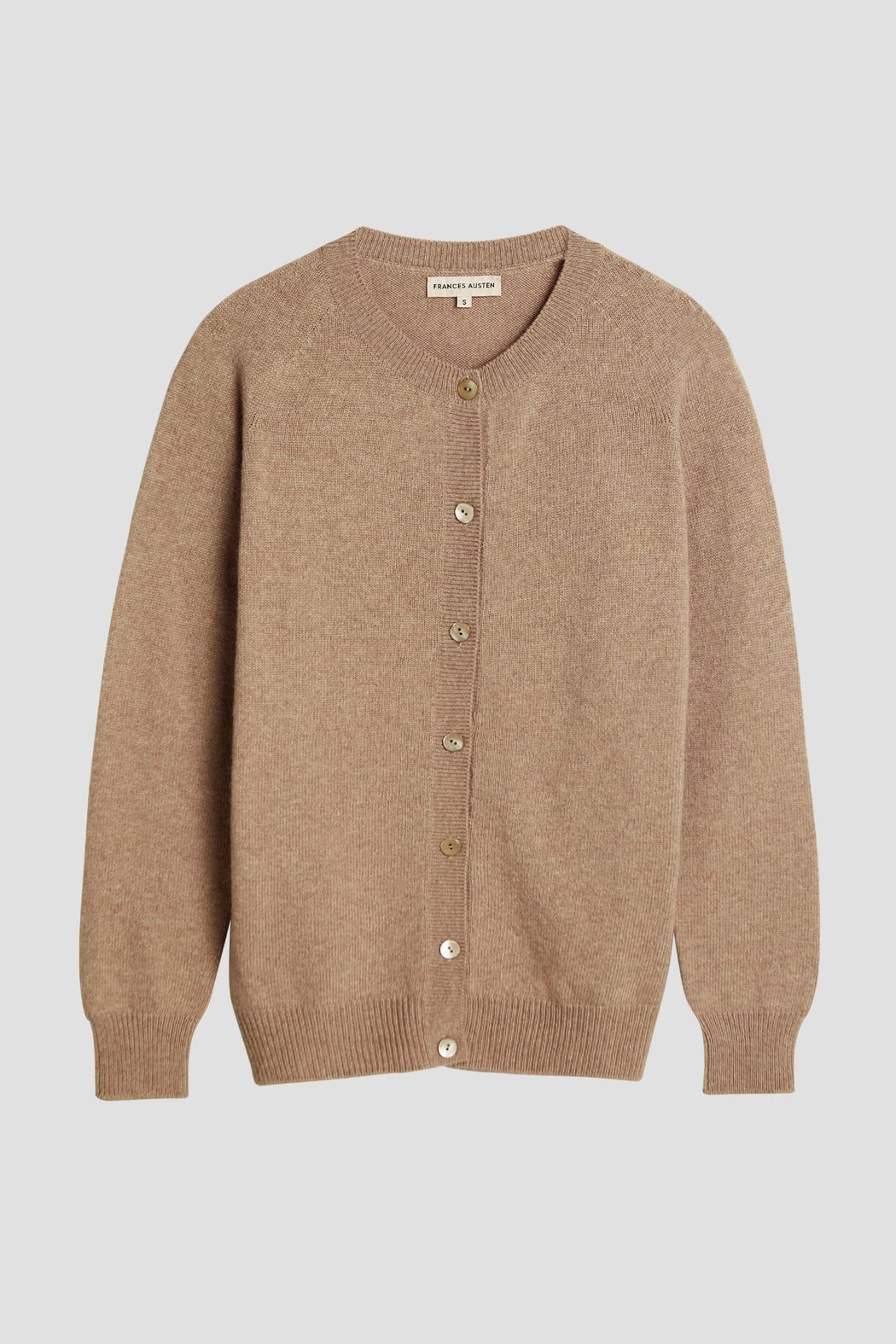 The Classic Cardigan, Camel