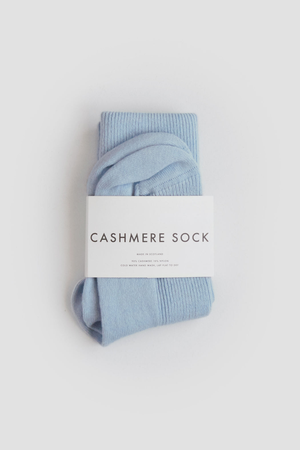 Cashmere Sock Skyline Blue