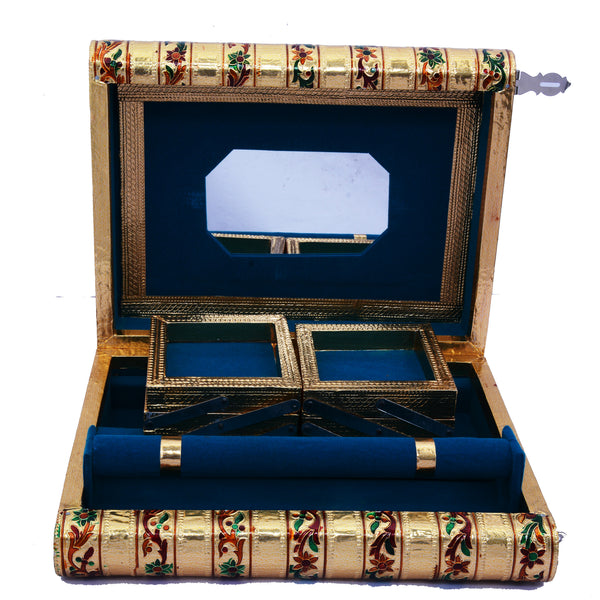 Traditional Meenakari Jewelry Box