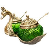 Attractive swan shaped mouth freshner container