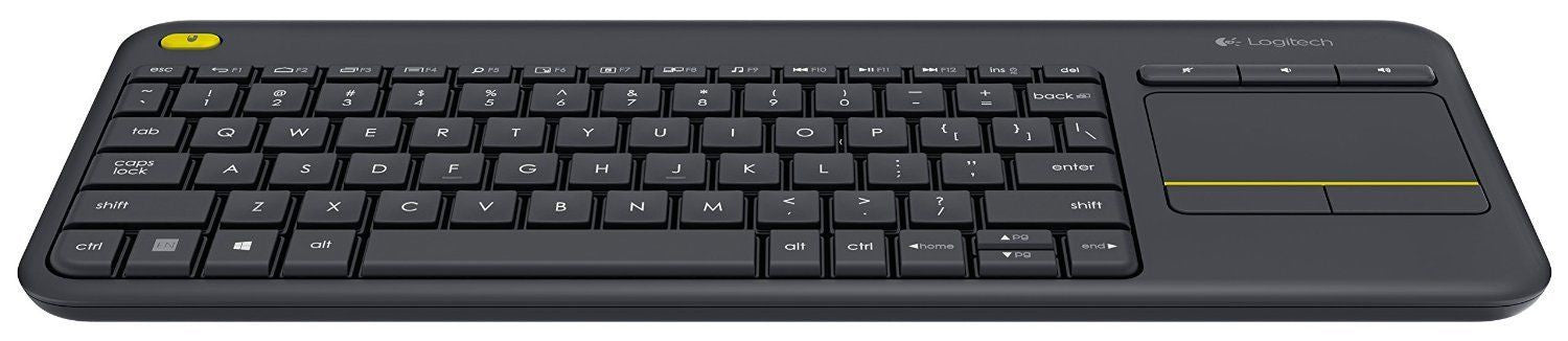 Logitech Wireless Touch Keyboard K400 Plus w/ Touchpad for  Internet-Connected TV